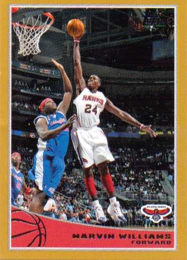 2009-10 Topps Gold #4 Marvin Williams