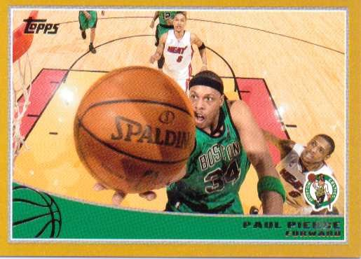 2009-10 Topps Gold #12 Paul Pierce