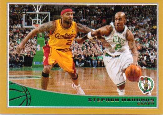 2009-10 Topps Gold #22 Stephon Marbury