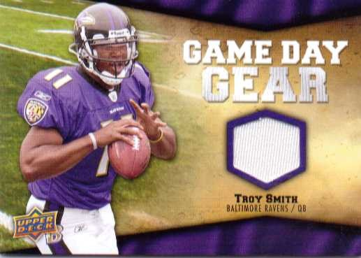 2009 Upper Deck Game Day Gear #TS Troy Smith