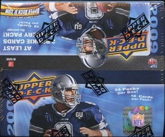 2009 Upper Deck Football Retail Box