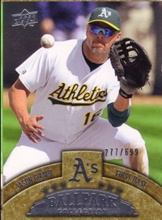 2009 Upper Deck Ballpark Collection #36 Jason Giambi