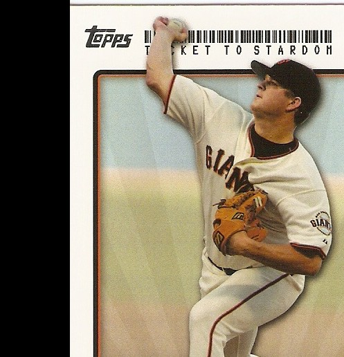 2009 Topps Ticket to Stardom #180 Matt Cain