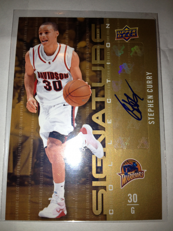 2009-10 Upper Deck Signature Collection #175 Stephen Curry