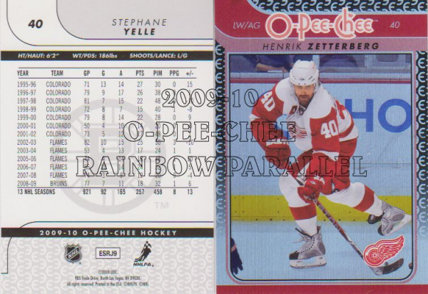 2009-10 O-Pee-Chee Rainbow #165 Joffrey Lupul