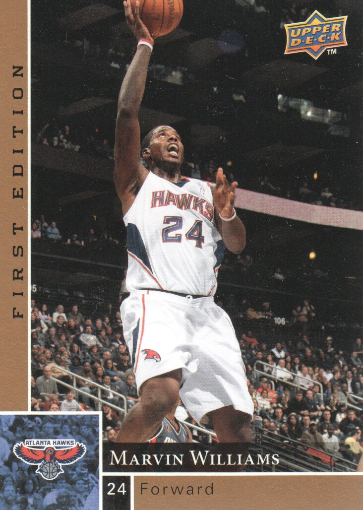 2009-10 Upper Deck First Edition Gold #5 Marvin Williams