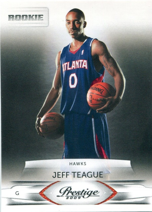 2009-10 Prestige #219 Jeff Teague RC