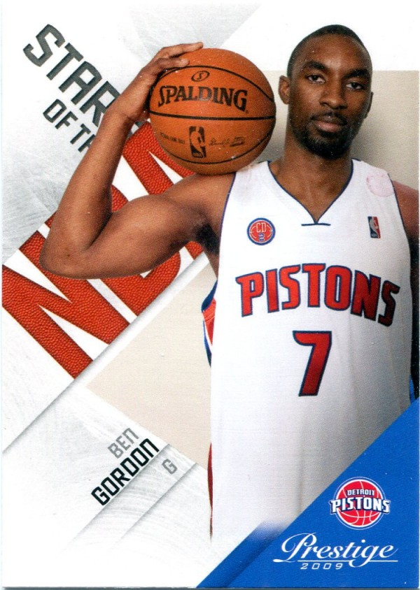 2009-10 Prestige Stars of the NBA #20 Ben Gordon