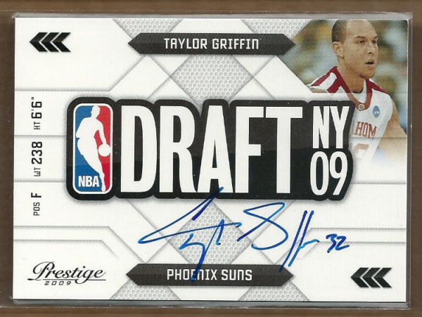 2009-10 Prestige NBA Draft Class Autographs #35 Taylor Griffin