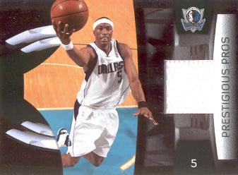 2009-10 Prestige Prestigious Pros Materials Green #6 Josh Howard