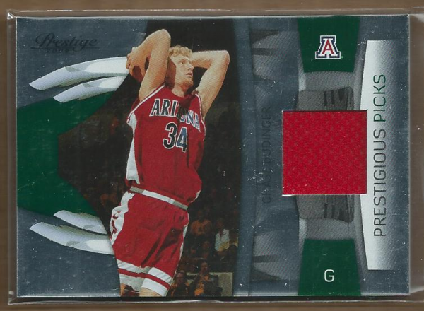 2009-10 Prestige Prestigious Picks Materials Green #47 Chase Budinger