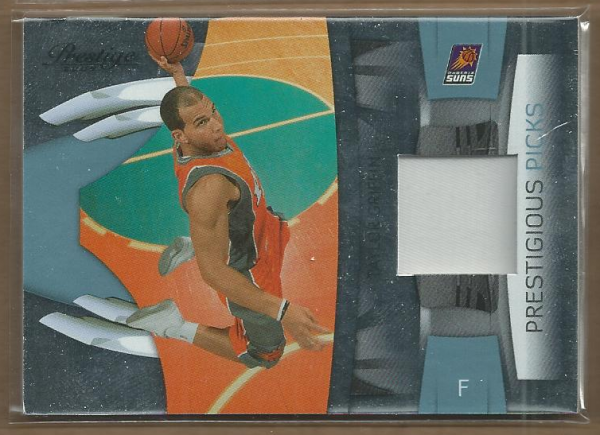 2009-10 Prestige Prestigious Picks Materials Black #35 Taylor Griffin