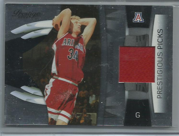 2009-10 Prestige Prestigious Picks Materials Black #47 Chase Budinger