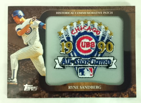 2009 Topps Legends Commemorative Patch #LPR147 Ryne Sandberg
