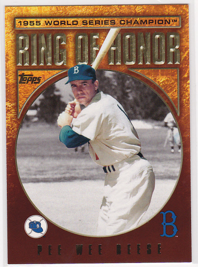 2009 Topps Ring Of Honor #RH92 Pee Wee Reese