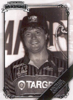 2009 Press Pass Legends #5 Michael Andretti