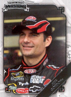 2009 Press Pass Legends #46 Jeff Gordon
