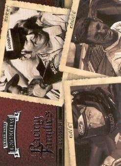 2009 Press Pass Legends #56 Bobby Allison/Davey Allison/Donnie Allison