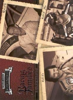2009 Press Pass Legends #58 Ralph Earnhardt/Dale Earnhardt/Dale Earnhardt Jr.