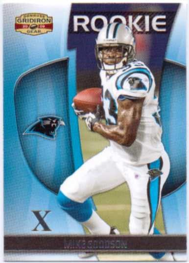 2009 Donruss Gridiron Gear Silver X's #177 Mike Goodson