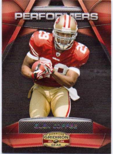 2009 Donruss Gridiron Gear Performers Silver #12 Glen Coffee