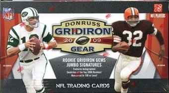 2009 Donruss Gridiron Gear Football Retail Box