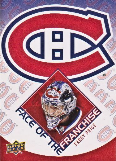 2009-10 Upper Deck Face of the Franchise #FF3 Carey Price