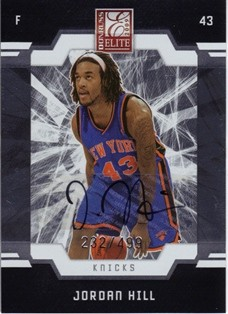 2009-10 Donruss Elite #167 Jordan Hill AU RC