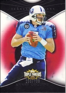 2009 Topps Triple Threads #24 Kerry Collins