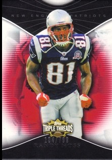 2009 Topps Triple Threads #75 Randy Moss