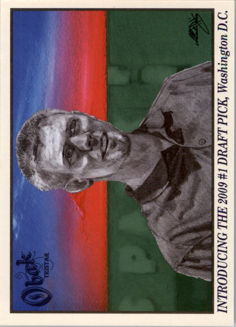 2009 TRISTAR Obak #115b Stephen Strasburg/1910 Superbass Back variation/Diamond around number