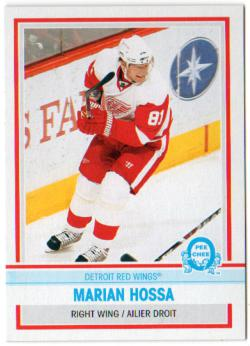 2009-10 O-Pee-Chee Retro Blank Backs #7 Marian Hossa