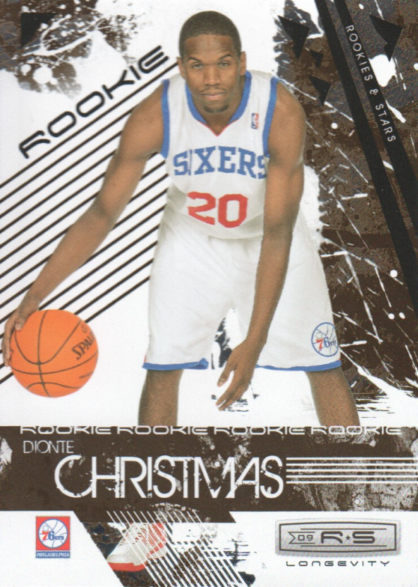 2009-10 Rookies and Stars Longevity #120 Dionte Christmas RC