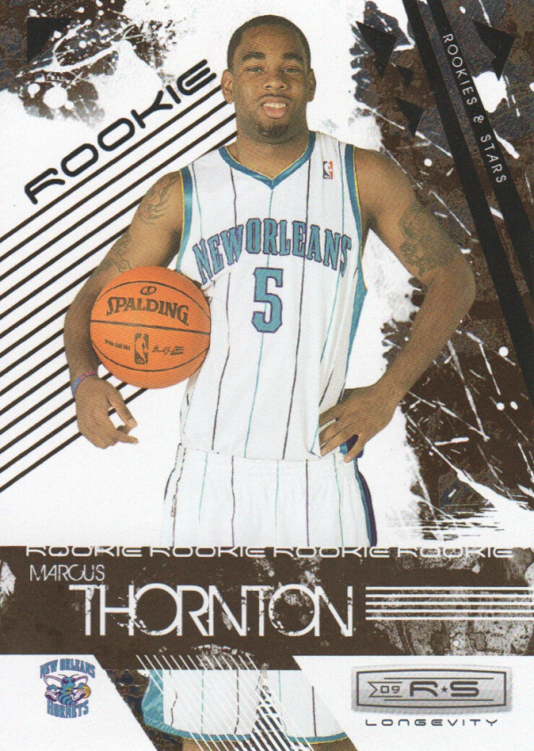 2009-10 Rookies and Stars Longevity #121 Marcus Thornton RC