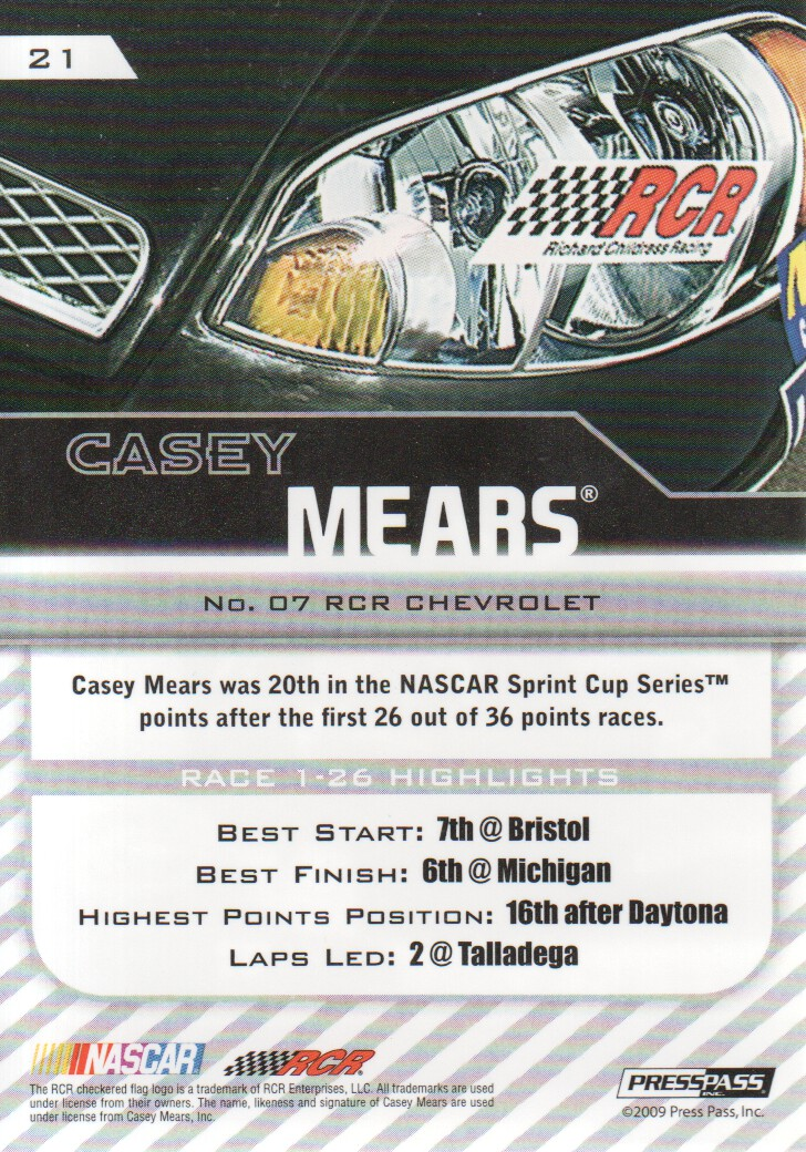 2010-Press-Pass-Parallels-NASCAR-Racing-Cards-Pick-From-List thumbnail 5