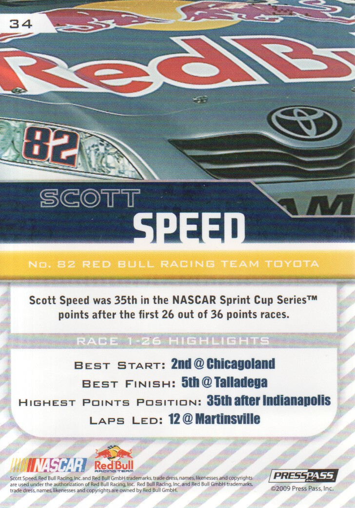 2010-Press-Pass-Parallels-NASCAR-Racing-Cards-Pick-From-List thumbnail 11