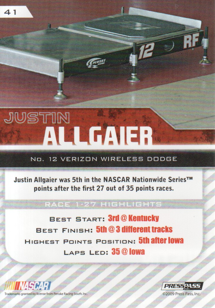 2010-Press-Pass-Parallels-NASCAR-Racing-Cards-Pick-From-List thumbnail 15