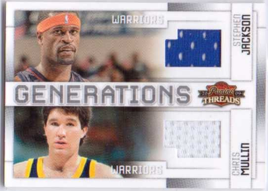 2009-10 Panini Threads Generations Materials #3 Chris Mullin/Stephen Jackson