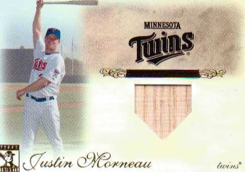 2009 Topps Tribute Relics #81 Justin Morneau