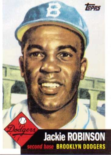 2010 Topps Cards Your Mom Threw Out #CMT2 Jackie Robinson