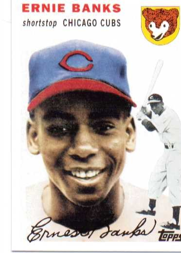 2010 Topps Cards Your Mom Threw Out #CMT3 Ernie Banks