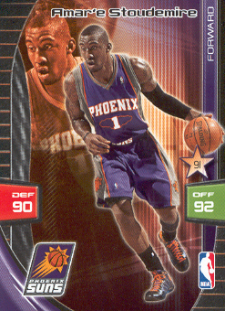 2009-10 Adrenalyn XL #257 Amare Stoudemire