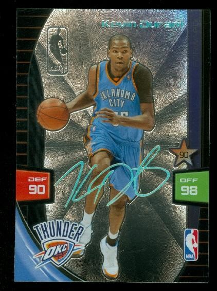 2009-10 Adrenalyn XL Ultimate Signature #6 Kevin Durant