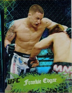 2010 Topps UFC Main Event Gold #51 Frankie Edgar
