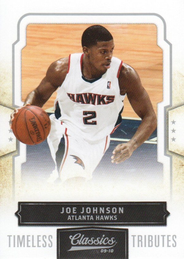 2009-10 Classics Timeless Tributes Silver #67 Joe Johnson
