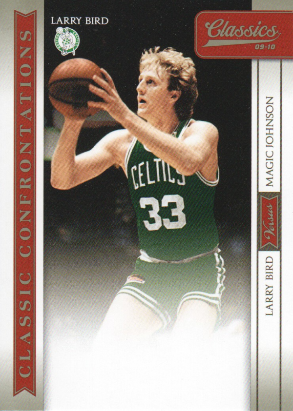 2009-10 Classics Classic Confrontations #1 Larry Bird/Magic Johnson