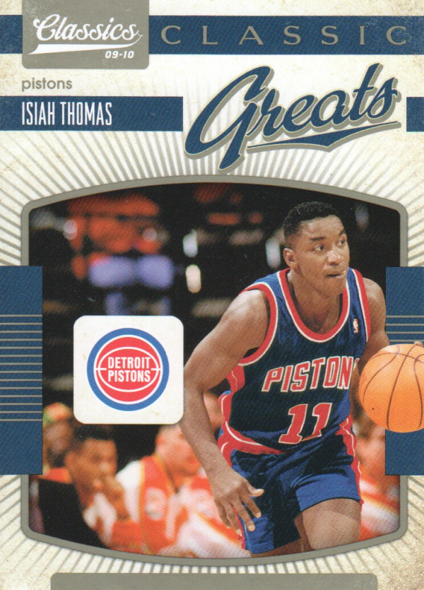 2009-10 Classics Classic Greats #12 Isiah Thomas