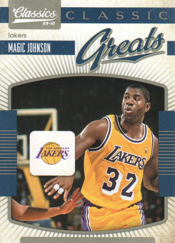 2009-10 Classics Classic Greats #21 Magic Johnson