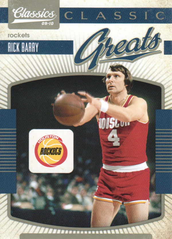 2009-10 Classics Classic Greats #26 Rick Barry