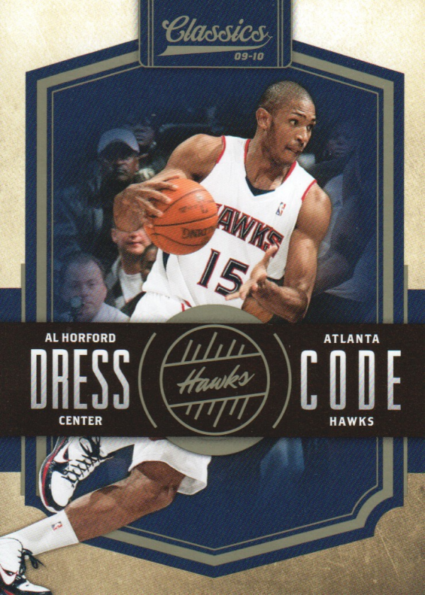 2009-10 Classics Dress Code #1 Al Horford